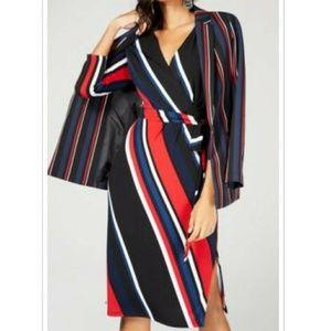🔥🆕➕ I.N.C. 💜 Stripe Dress